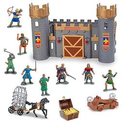 Liberty Imports Medieval Castle Knights Action Figure Toy Ar
