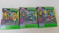 Mega Bloks Nickelodeon Teenage Mutant Ninja Turtles Set Of 3