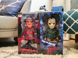 MEZCO Mega - Freddy Krueger,  Jason Voorhees - Horror Lot -