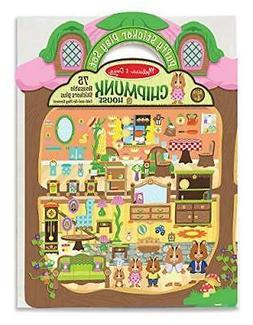 Melissa & Doug Puffy Sticker Activity Book: Chipmunk House S