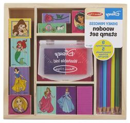 Melissa & Doug Wooden Stamp Set Princesses, Arts & Crafts,Wa