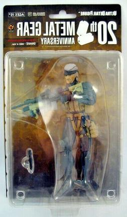 Metal Gear Solid Medicom 7 Inch Action Figure Snake MGS4 Ver