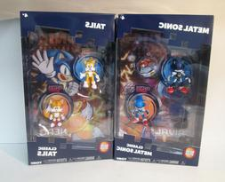 Metal Sonic & Tails Classic Sonic the Hedgehog Action Figure