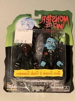 """Mezco Mez-Itz Monster  3"""" Figures 2003 Universal Horror McFa"""