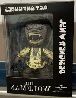Mez-itz Universal WOLFMAN Designer Vinyl  figure signed by B
