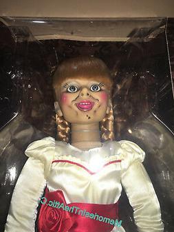 "Mezco The Conjuring Annabelle 18"" Posessed Horror Replica Li"