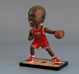 Michael Jordan MJ Chicago Bulls NBA MVP Bobbleheads Action F