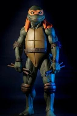 "MICHELANGELO Teenage Mutant Ninja Turtles 1990 Movie 18"" 1/4"