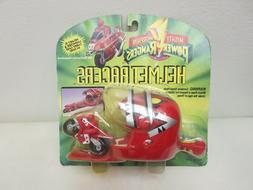 Mighty Morphin Power Rangers MMPR Helmet Racers RED Ranger A