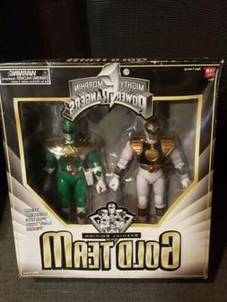Bandai Mighty Morphin Power Rangers Special Edition GOLD TEA