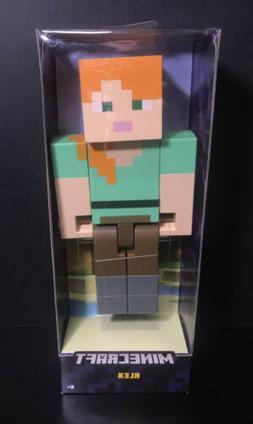 "Minecraft Alex Action Figure Large Scale, 8.5""  - NEW"
