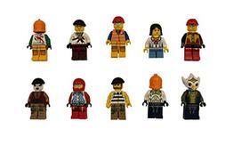 Lego Lot Of 10 Minifigures Random Lot Star Wars, Ninjago & M