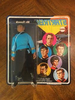 """MINT ON CARD MINT IN PACKAGE 1974 Mego Star Trek 8"""" Figure M"""