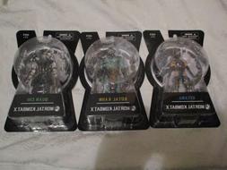 """Mezco Mortal Kombat X MKX 6"""" Inch Series 2 Lot of 3 Quan Chi"""
