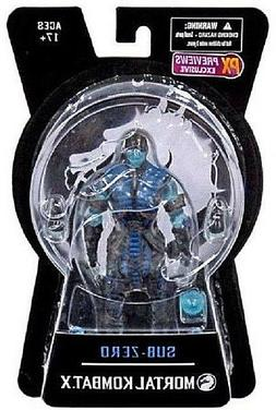 Mortal Kombat X__SUB-ZERO Ice Variant Exclusive 6 inch actio