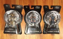 Mezco Mortal Kombat X Sub-Zero Raiden Kitana New Sealed Lot