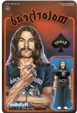 Super7 Motorhead ReAction Figure - LEMMY Action Figure Warpi