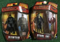 "DC Comics Multiverse BATMAN and JOKER  4"" Action Figures"