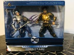 DC COMICS Multiverse Gladiator Battle Movie Aquaman vs Orm O