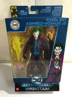 MULTIVERSE THE JOKER. 6 Inch Action Figure 80th  Anniversary