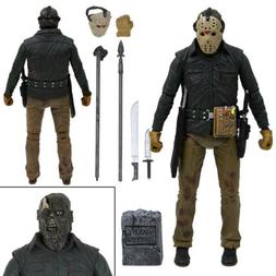 """NECA Friday the 13th Jason Voorhees Part 6 7"""" Ultimate Actio"""