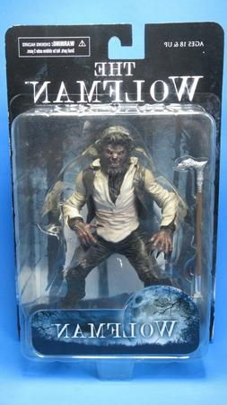 NECA/MEZCO THE WOLFMAN UNIVERSAL MONSTERS  ACTION FIGURE 7""