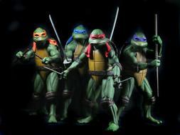 """NECA Teenage Mutant Ninja Turtles TMNT 7"""" Action Figure 1990"""