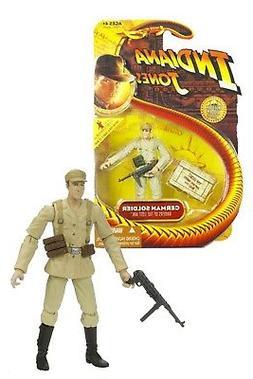 NEW 2008 German Soldier 3 3/4 Indiana Jones Action Figure by