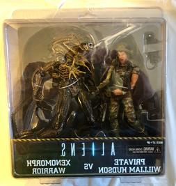 "*NEW* ALIENS PRIVATE HUDSON VS XENOMORPH WARRIOR"" ACTION FIG"
