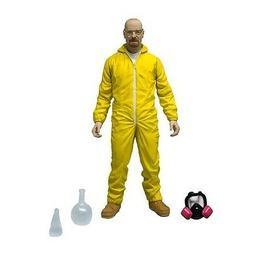 "NEW AMC Breaking Bad Walter White 6"" Yellow Hazmat Suit Meth"