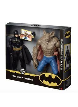NEW DC Comics Batman Missions: Batman vs Man-Bat 2-Pack Figu