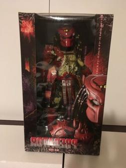 "New NECA BIG RED PREDATOR 1/4 Scale 18"" inch movie action fi"
