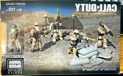 NEW Mega Bloks Call Of Duty Desert Squad 110pcs Collectors S