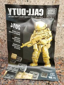 New Mega Bloks Call of Duty Ghosts Figure 2014 Exclusive Toy