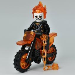*NEW* LEGO Compatible Ghostrider Marvel Comics Johnny Blaze