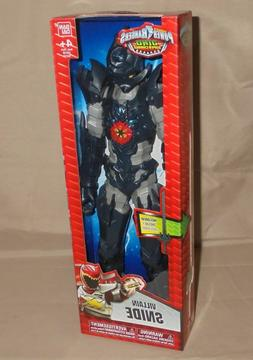 """New Dino Super Charge POWER RANGERS 12"""" Villain SNIDE Action"""