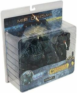 "NECA Pacific Rim Gipsy Danger & Kaiju Leatherback 7"" Action"