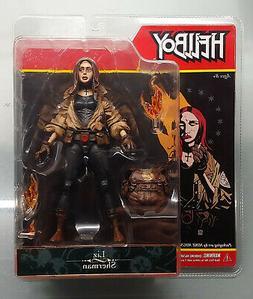 New Mezco Hellboy Comic Liz Sherman Action Figure Mike Migno