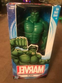 "NEW IN BOX Marvel Incredible HULK Action Figure 6"" Plastic B"