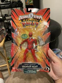 NEW Power Rangers Jungle Fury Sound Fury Tiger Ranger Action