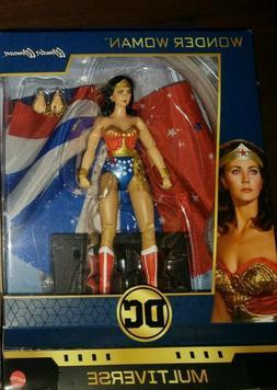 NEW Lynda Carter 1970s TV action figure Wonder Woman DC Mult