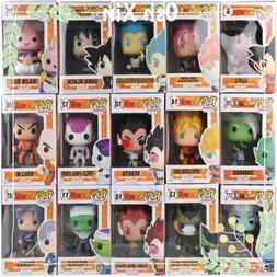 New Funko Pop Dragon Ball Z Vinyl Goku Vegeta Trunks Gotenks