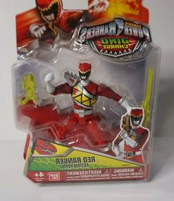 """New* Power Rangers Dino Super Charge Red Ranger 5"""" Action He"""