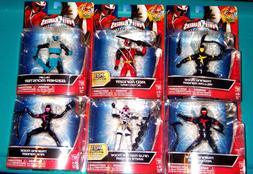 """NEW! Power Rangers Ninja Steel 6"""" Action Figures - Your Choi"""