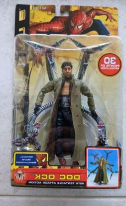 NEW SPIDER-MAN 2 TOY BIZ 2004 DOC OCK WITH TENTACLE ATTACK A