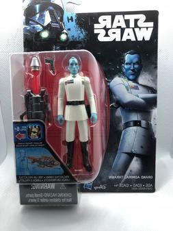 New! Disney Starwars Grand Admiral Thrawn Action Figure 3.75