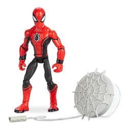 "New Disney Store Spiderman Action Figure Marvel Toybox 4.75"""
