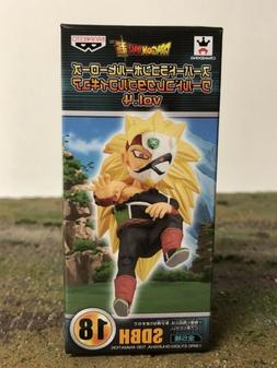 NEW Banpresto Super Dragon Ball Heroes WCF SSJ3 Masked Saiya