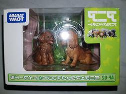 New Takara Tomy AP-02 Animal Figures Miniature Dachshund & T