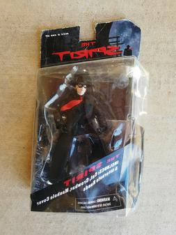 NEW~The Spirit Action Figure~ 2009 MOC Card has heavy wear ,